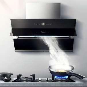 美的(Midea)厨电套餐 烟灶两件套 油烟机E62S/E88+燃气灶Q67(天然气)【商场同款】