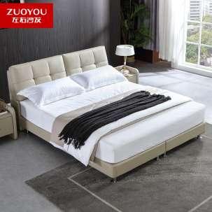 左右 主卧室皮床 DR029-1.8米宽
