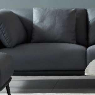 左右 现代简约 四人位科技布沙发5052