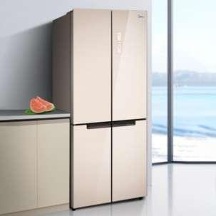 美的冰箱BCD-515WGPM 嵌入式515升 十字四开门 风冷无霜 一级能效 19分钟急速净味