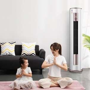 美的空调KFR-72LW/BP3DN8Y-YH200(1) 新一级 智行 智能变频冷暖 3匹圆柱柜机