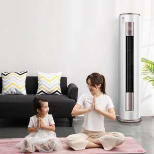 美的空调KFR-51LW/BP3DN8Y-YH200(1) 新一级 智行 智能变频冷暖 2匹圆柱柜机