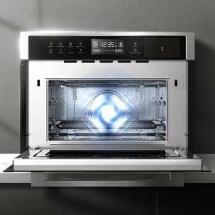 美的微蒸烤一体机TR934FMJ-SSW 嵌入式 微波炉/蒸箱/烤箱三合一多功能  34L 名爵系列【商场同款】
