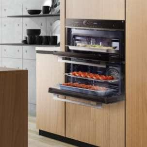 美的BS50D0W 嵌入式蒸烤箱 上蒸下烤 蒸烤一体机