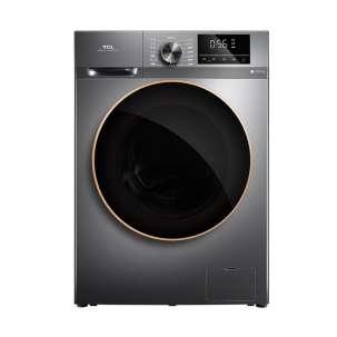 TCL 10公斤 DD直驱变频滚筒洗烘一体机 G100F12-HD 星耀灰