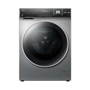 海尔(Haier)直驱变频滚筒全自动大容量洗衣机智慧洗紫外线除菌G100158B12S云熙 圣多斯银【直驱电机】
