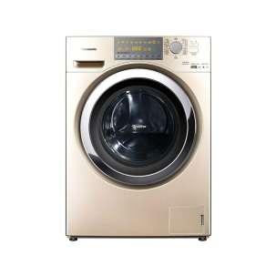 松下(Panasonic) XQG100-EG13N 滚筒洗衣机 专利泡沫发生技术冷凝式烘干节能导航羽绒洗涤 10.0kg