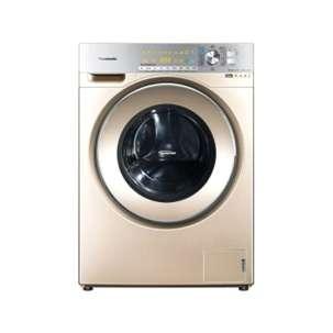 松下(Panasonic) XQG100-EG129 滚筒洗衣机 nanoe纳米水离子光动银洗干一体专利泡沫变频 10.0kg