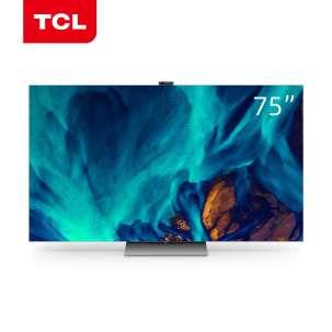 TCL灵悉C12全套系AI家电 量子点Mini LED智屏 75英寸 75C12  智慧全场景电视