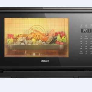 老板(Robam)蒸箱烤箱二合一 家用多功能台式蒸烤一体机烘焙电蒸汽烤箱KZTS-24-CT73A