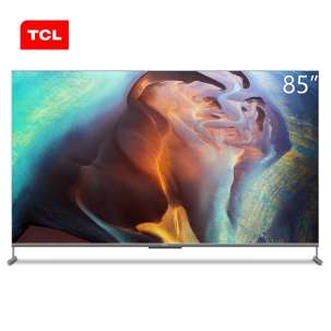 TCL智屏 85Q6E 85英寸 4K高色域智慧电视 MEMC运动防抖 3+32GB 巨幕私人影院 液晶平板电视机