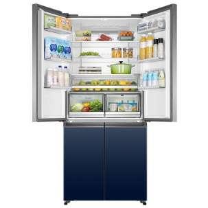 海尔(Haier)十字对开门冰箱 BCD-555WSCEU1
