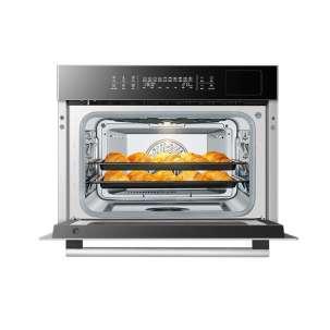 【新品】老板(Robam)镀钛内胆蒸烤一体机嵌入式家用蒸烤箱一体机CQ976X蒸箱烤箱脱脂空气炸 蒸烤炸三合一