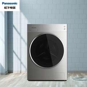 松下滚筒洗衣机全自动10公斤 光动银常温除菌 15分钟快洗 稀土永磁BLDC变频电机 XQG100-L166