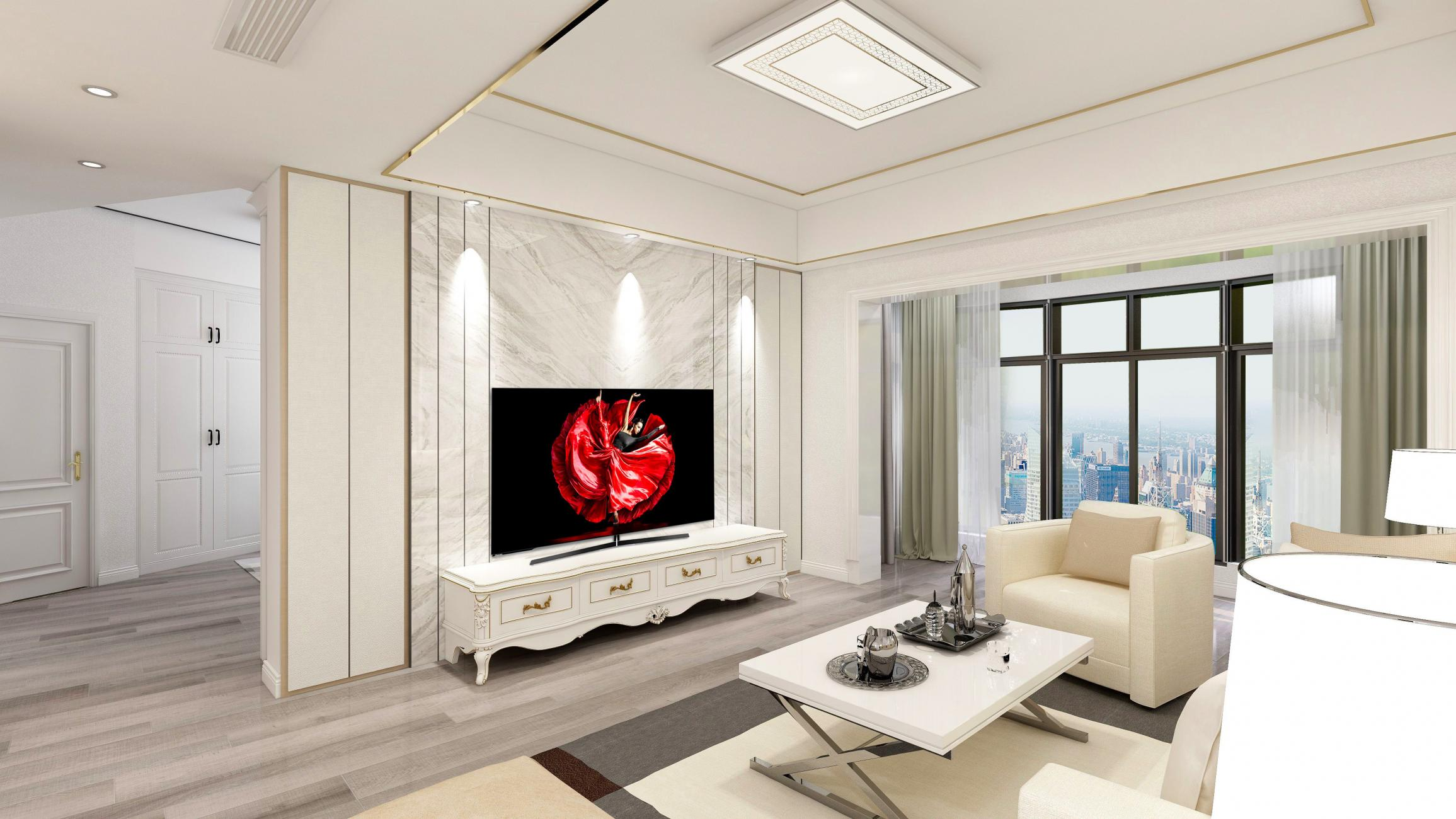 电视墙这样装,全时时彩人都不愿意离开客厅了!