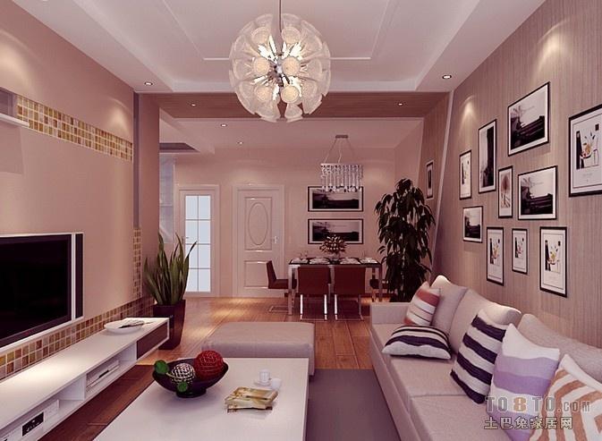 房屋装修效果图_三室二厅装修样板房