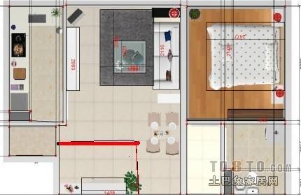 如何将两室两厅的房子改成三室一厅的房子 高清图片