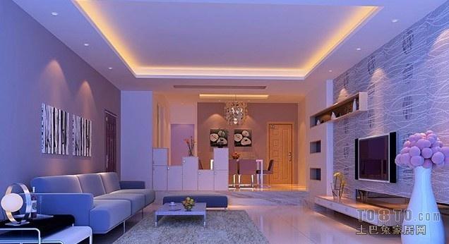 卧室装灯效果图; 客厅吊顶要装灯带吗;     10款最美吊顶装修效果图图片