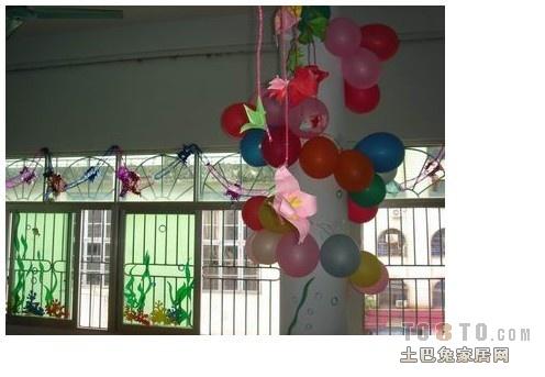 六一儿童节气球装饰怎么做?