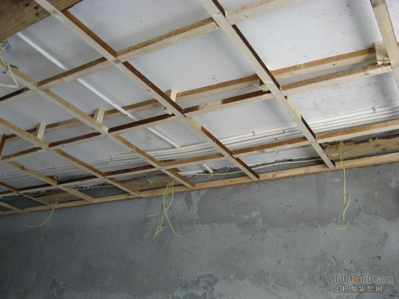 木龙骨 吊顶的效果 图 天花板 吊顶 土巴兔问吧 高清图片