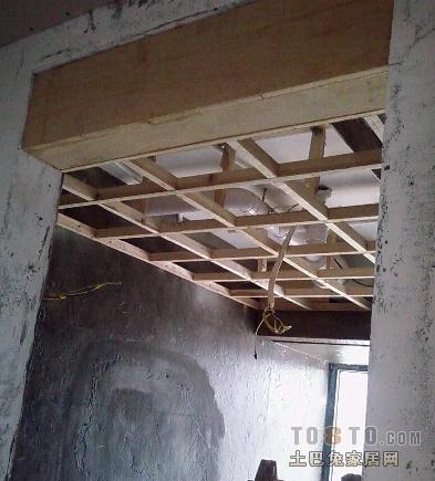 木龙骨结构图片图片 吊顶木龙骨安装方法图,木龙骨 ...