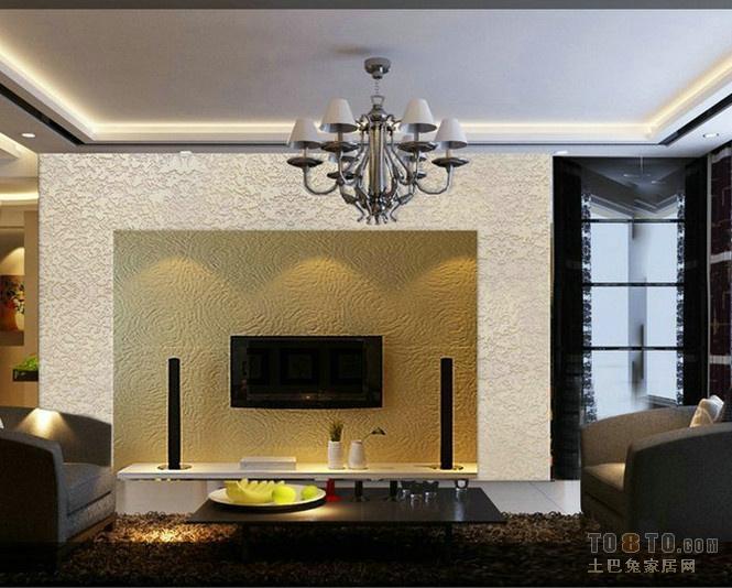 硅藻泥影视墙效果图高清图片