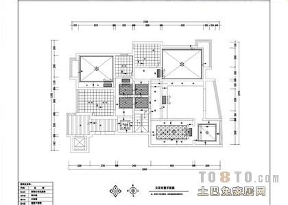室内设计天花布置图怎么做?