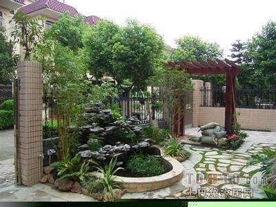 详细称为区域照明庭院布局该做:三点别墅,又说说照明灯光,一般郊区东城区北京别墅图片
