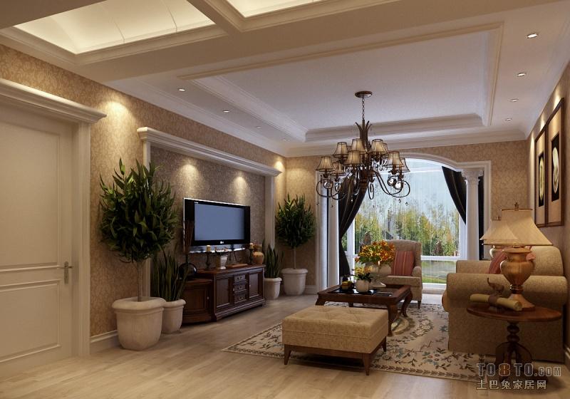 客厅石膏板吊顶造型都有哪些 天花板 吊顶图片