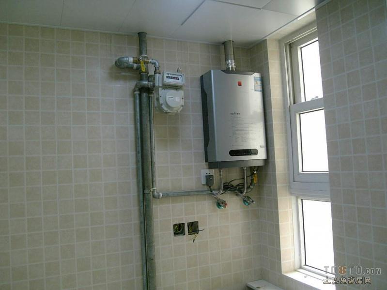 求燃气表接热水器的图片图片