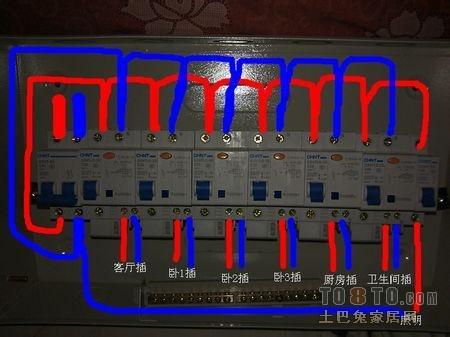 家庭配电箱接线图?_其他