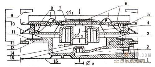 煤气灶点火器结构图?