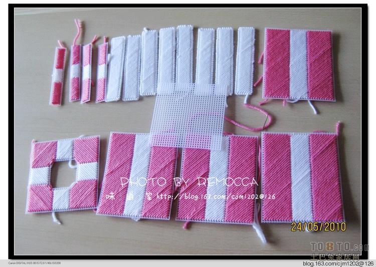 求立体绣纸巾盒教程?_其他