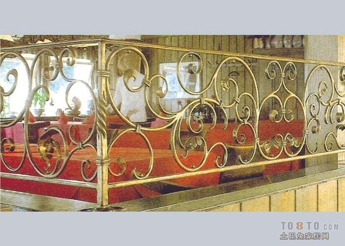 欧式铁艺围栏图片