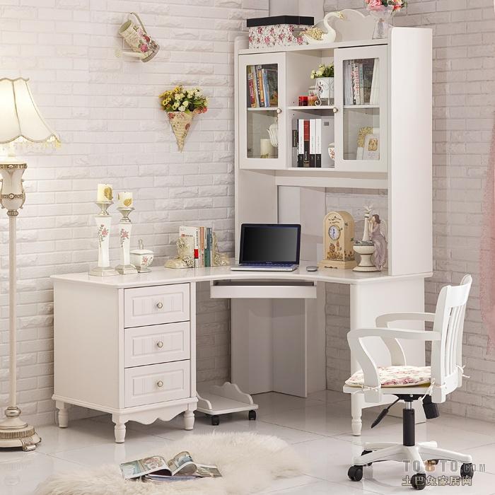 求书柜书桌一体图片图片