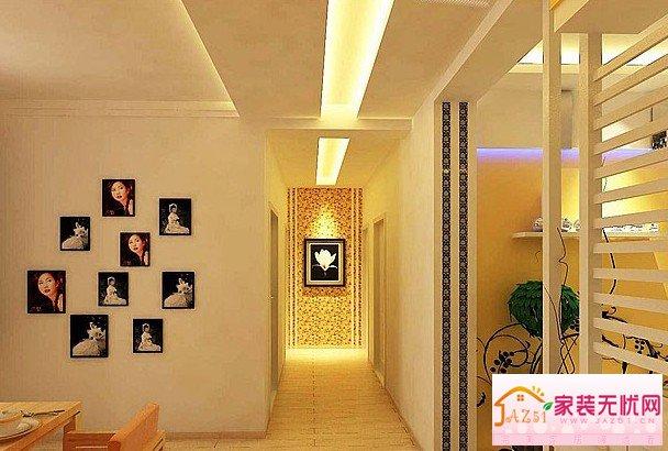 客厅走廊回字客厅走廊墙画图片4