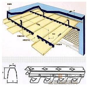 谁知道条形铝扣板吊顶施工工艺图片