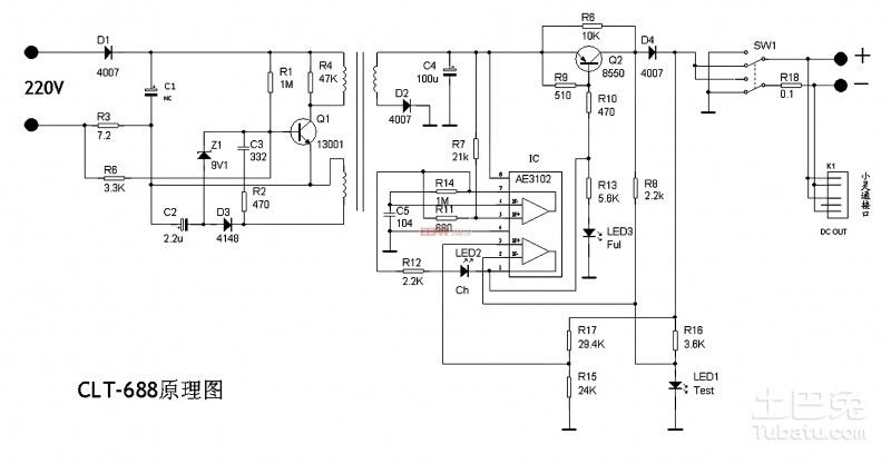所有手机充电器其实都是由一个稳定电源(主要是稳压电源、提供稳定工作电压和足够的电流)加上必要的恒流、限压、限时等控制电路构成。 原装充电器(指线充)上所标注的输出参数:比如输出4。4V/1A、输出5.9V/400mA就是指内部稳压电源的相关参数。明白了这个道理,你很会知道一个(品质好的)手机充电器很容易改成一个质量优良的稳压电源! 比如输出4.