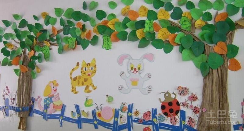 幼儿园中班主题墙怎么布置