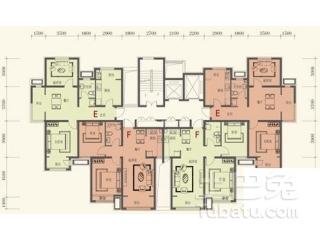 天津华城佳苑房型图是怎样的