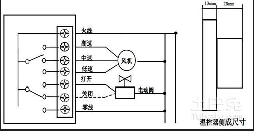 空调风机盘管接线图谁有