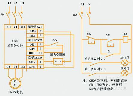 器的输出电压和逆变频率