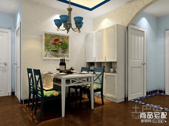 厨房与餐厅隔断酒柜如何装修设计?图片