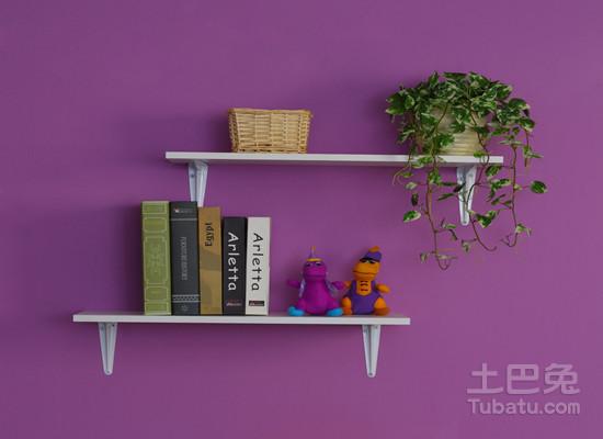 如何自制墙上简易书架