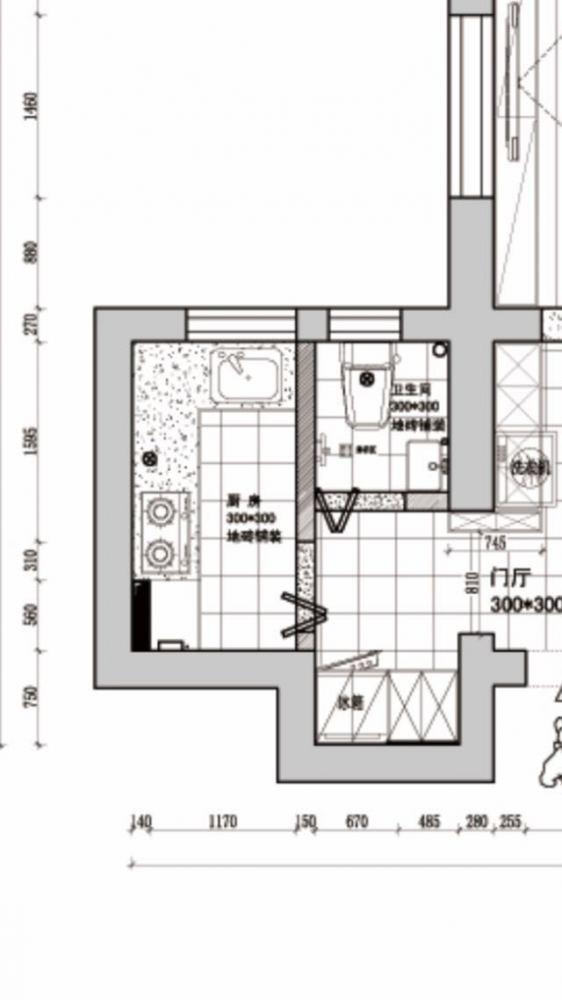 长方形卫生间设计
