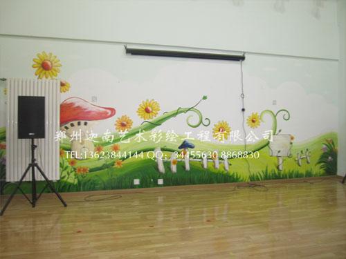 公司新闻 幼儿园墙体绘画 迦南艺术墙体彩绘壁画制作流程 新闻动态 河南郑州迦南手绘墙体彩绘壁画装饰工程公司