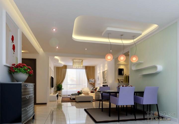 装修教室 帖子列表 03 帖子详情     中式现代的房屋装修效果,电视