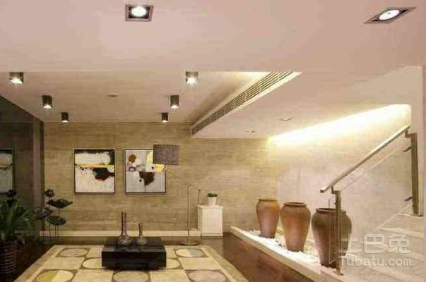 客厅吊顶筒灯