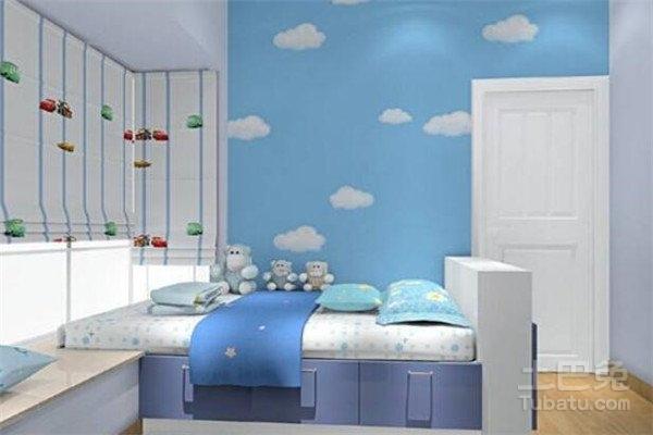 卧室墙纸风水