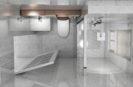 安华卫浴,卫浴品牌,轻定制胡桃雾影系列